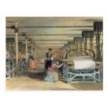 Telar de poder que teje, 1834 tarjetas postales