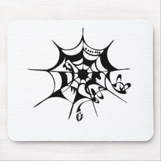Telaraña de Spiderweb Alfombrillas De Raton
