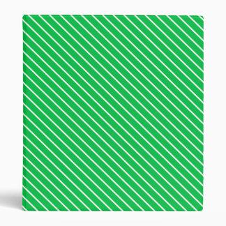 """Telas a rayas diagonales - verde esmeralda y carpeta 1"""""""
