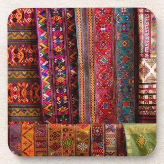 Telas de Bhután para la venta Posavasos