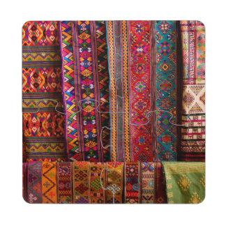 Telas de Bhután para la venta Posavasos De Puzzle