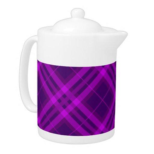 Telas escocesas, controles, tartanes púrpuras y pr