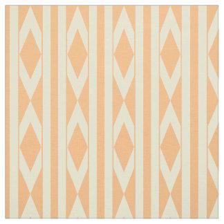 Telas impresas, zigzag y rayas, &Orange amarillo