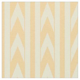 Telas impresas, zigzag y tira, &Orange amarillo