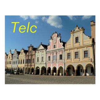 Telc postcard