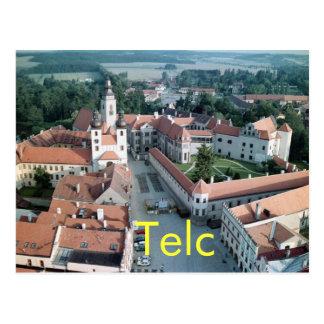 Telc postcards