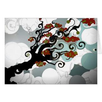 Telda el árbol tarjeton