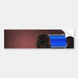 Tele Car Bumper Sticker