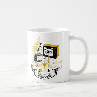Tele Novela Classic White Coffee Mug