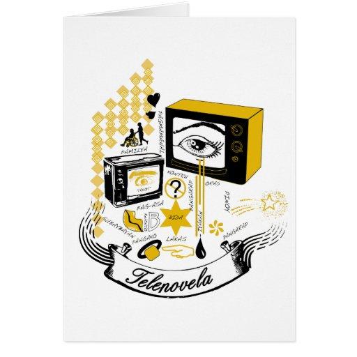 Tele Novela Greeting Card