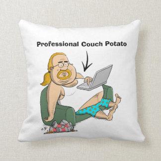 Teleadicto de la profesión - almohada divertida