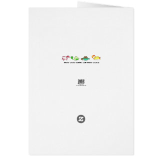 Telecat Be the Star of Your Life Greeting Card