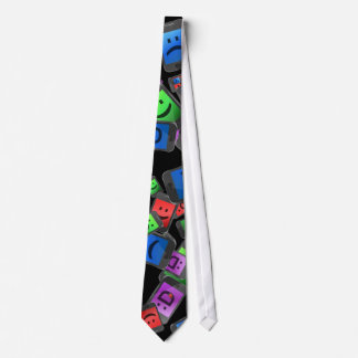 Telecommunication fun. neck tie