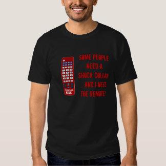 Telecontrol de encargo del cuello del choque camisas