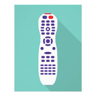 Telecontrol de la TV Plantillas De Membrete