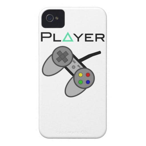 Telecontrol del jugador iPhone 4 carcasa