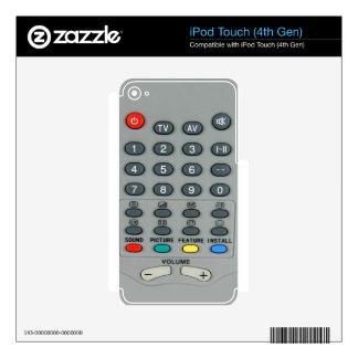 Teledirigido Calcomanía Para iPod Touch 4G