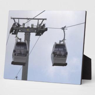 Telefèric de Montjuïc, Barcelona Plaque