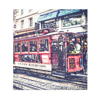 teleférico de San Francisco Bloc De Papel