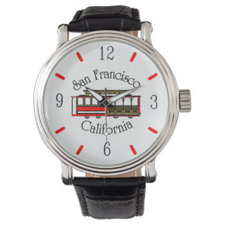 Teleférico de San Francisco del vintage Relojes