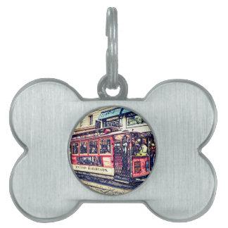 teleférico de San Francisco Placas Mascota