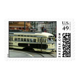 Teleférico de San Francisco Sellos Postales