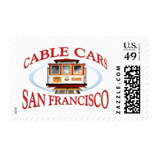Teleférico de San Francisco Timbres Postales