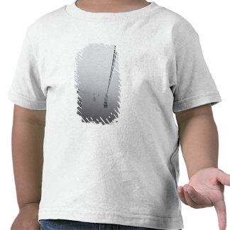 Teleférico del silbido de bala de Ngong en niebla Camisetas