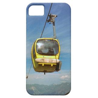 Teleférico en la cumbre de la gama del Mt Blanc iPhone 5 Fundas