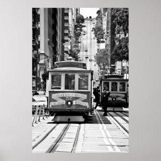 TELEFÉRICO EN SAN FRANCISCO PÓSTER