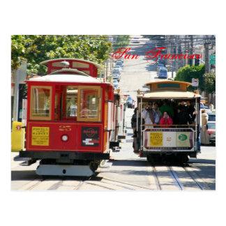 Teleféricos de San Francisco Tarjeta Postal