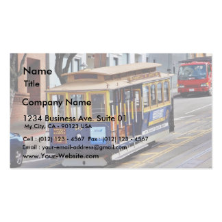 Teleféricos en San Francisco Tarjeta De Visita