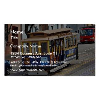 Teleféricos en San Francisco Tarjetas De Visita