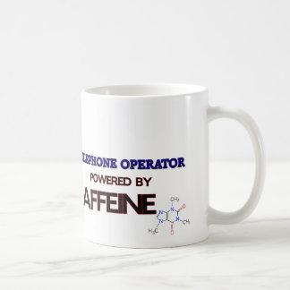 Telefonista accionada por el cafeína taza clásica
