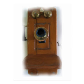 Teléfono anillo del vintage del anillo Postal