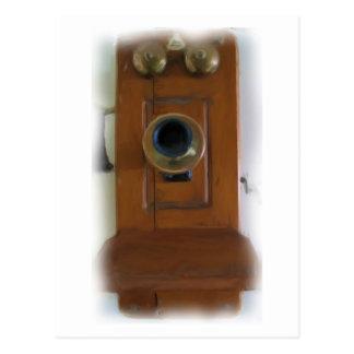 "Teléfono ""anillo del vintage del anillo!"" Postal"