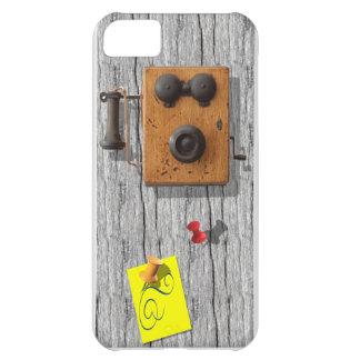 Teléfono antiguo funda para iPhone 5C