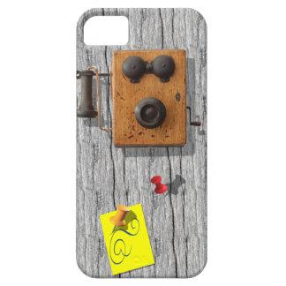 Teléfono antiguo funda para iPhone SE/5/5s