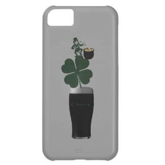 """""""Teléfono case.* de la cerveza inglesa irlandesa d Funda Para iPhone 5C"""