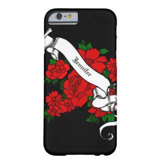 Teléfono celular/caja personalizados inspirados funda de iPhone 6 barely there