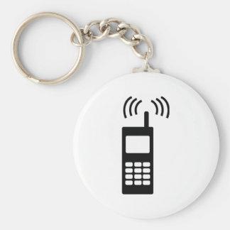 teléfono celular celly mobil práctico llavero redondo tipo pin