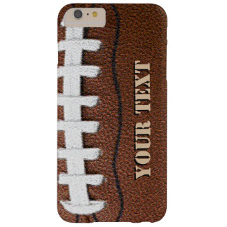 Teléfono celular de encargo del fútbol funda de iPhone 6 plus barely there