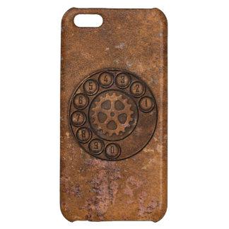 Teléfono de dial rotatorio de Steampunk