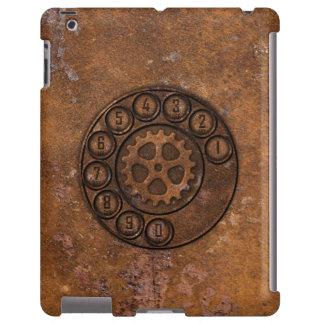 Teléfono de dial rotatorio de Steampunk Funda Para iPad