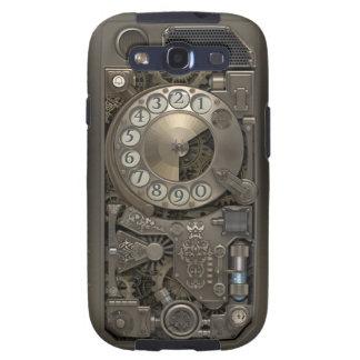 Teléfono de dial rotatorio del metal de Steampunk Galaxy S3 Protector