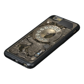 Teléfono de dial rotatorio del metal de Steampunk Funda Otterbox Para iPhone 6/6s Plus