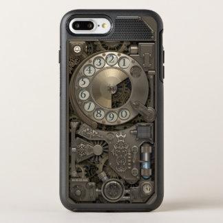 Teléfono de dial rotatorio del metal de Steampunk Funda OtterBox Symmetry Para iPhone 7 Plus