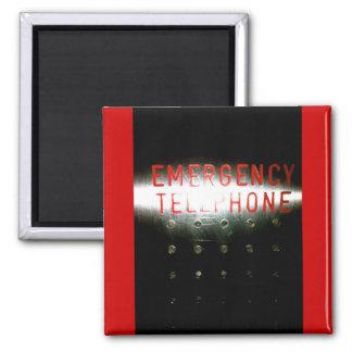 Teléfono de emergencia - imán