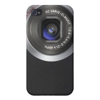Teléfono de encargo de la cámara iPhone 4 funda