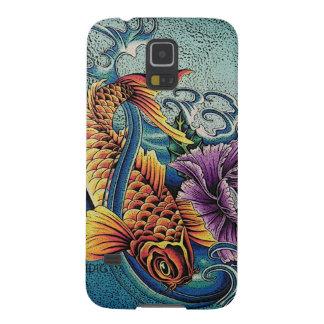Teléfono de Koi Fundas De Galaxy S5